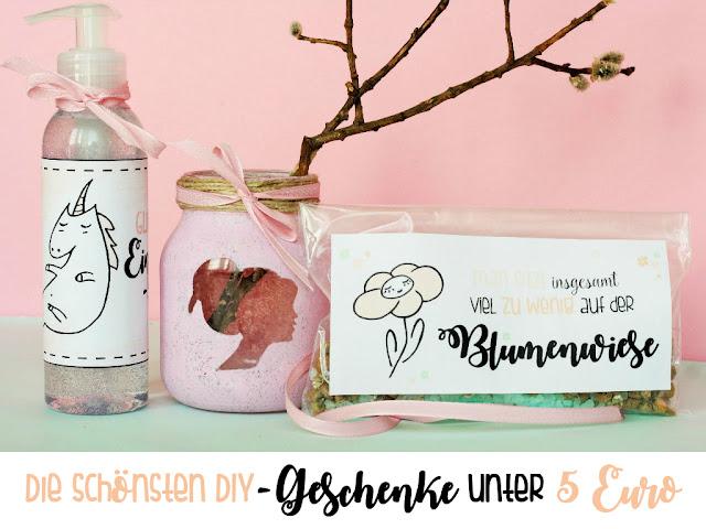 Die schönsten Do It Yourself - Geschenke unter 5 Euro