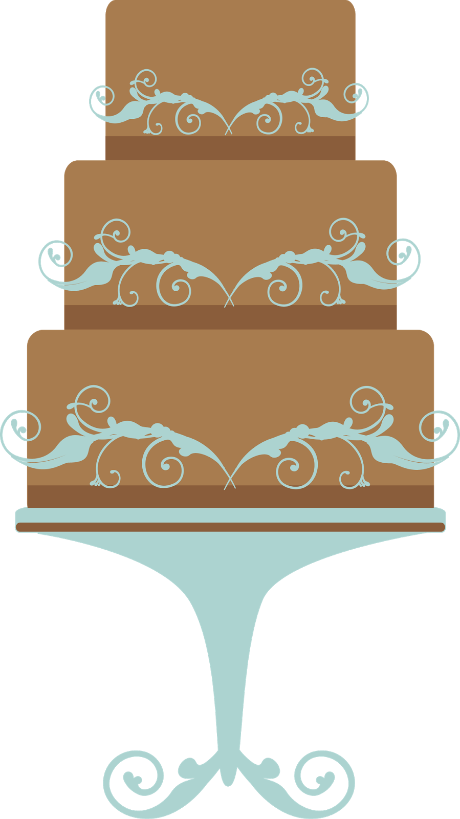 Chocolate Birthday Cake Clip Art