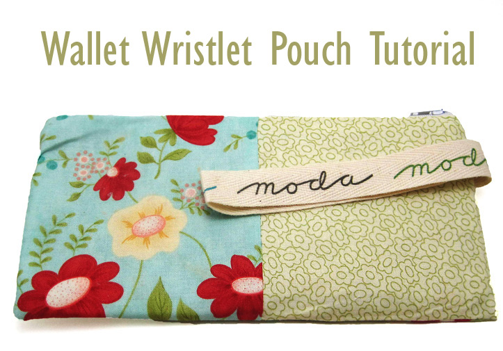Wallet Wristlet Zipper Pouch Tutorial