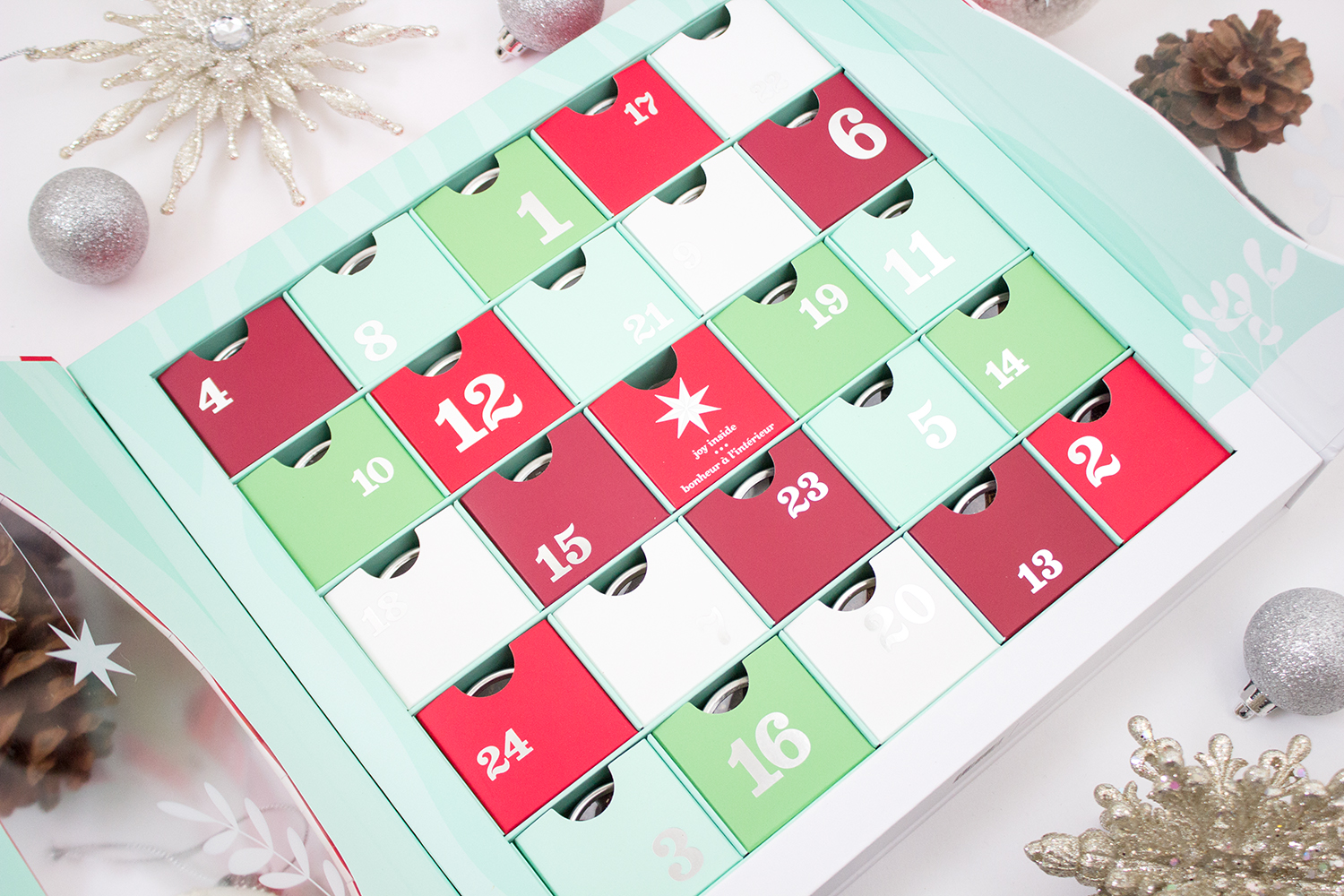 DavidsTea 24 Days of Tea Advent Calendar 2017