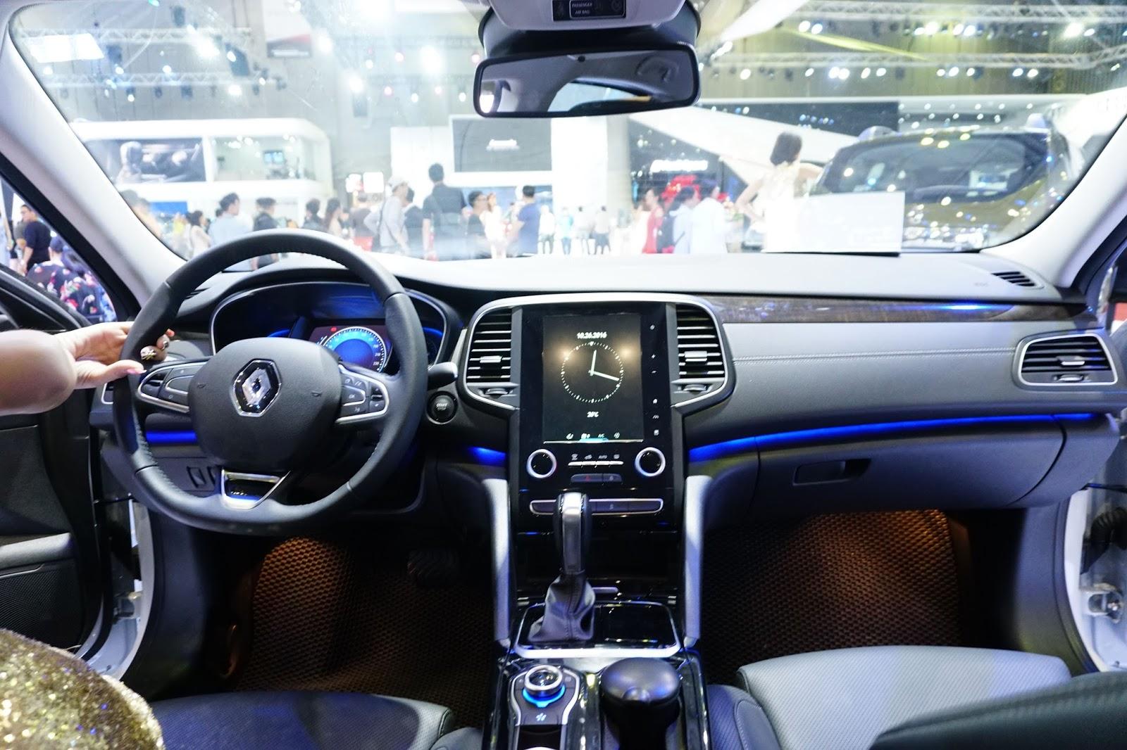 Rất nhiều tính năng tuyệt vời, thông minh được trang bị trên Renault Talisman 2017