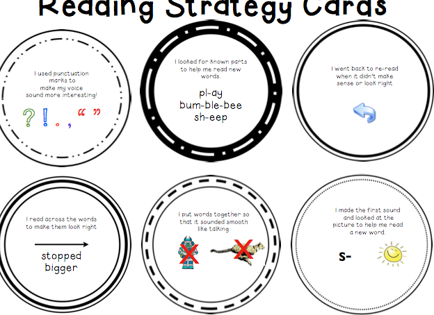 Table Talk with C and C: Reading & Writing Focus Cards and