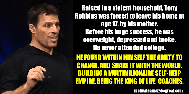 Success Stories From Famous People Who Failed Before Succeeding: Tony Robbins