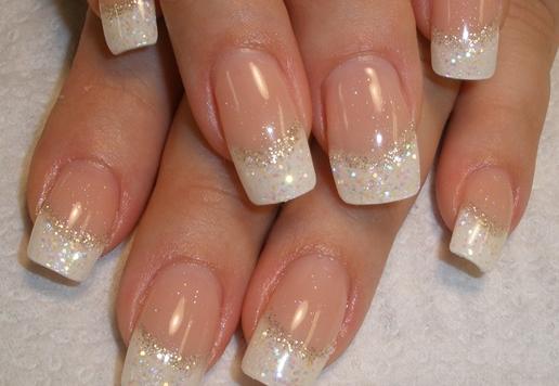 Idea Nails Art Classy French