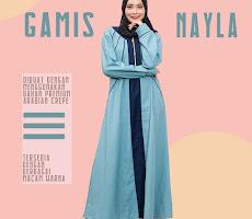 Gamis Nayla DG-09 Lady Muslimah <p> USD 25 </p> <code> DG-09 </code>
