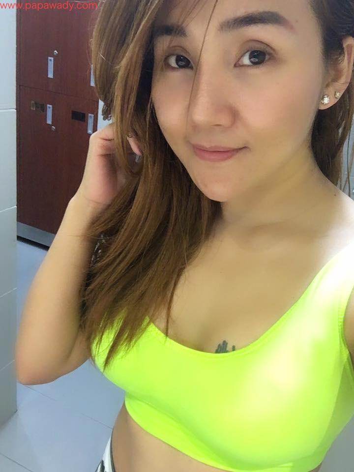 Nang Thiri Maung - Cute Selfies Shot After Fitness Time