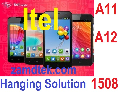 Itel A12 and hanging on Logo tested 100% solution.