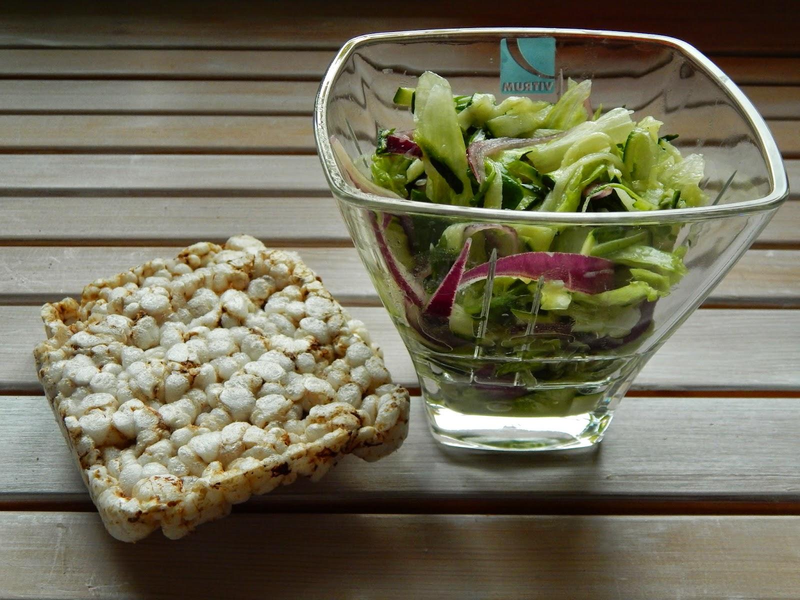 Jarní cuketový salát