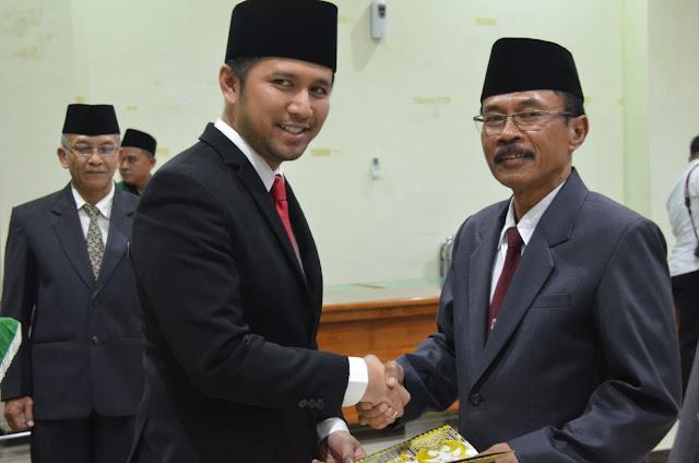 Bupati Emil Dardak, Resmi Lantik Drs. Pariyo Sebagai Penjabat Sekda Trenggalek