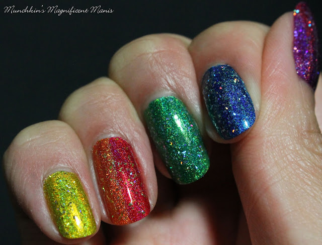Holo Taco 1st Anniversary Collection, over Rainbow Collection