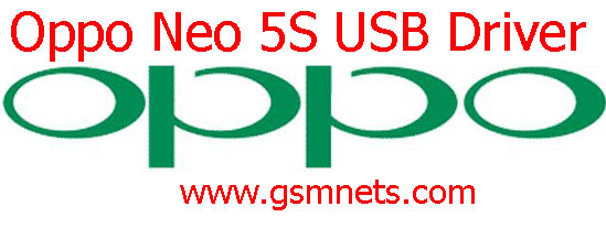 Oppo Neo 5S USB Driver Download
