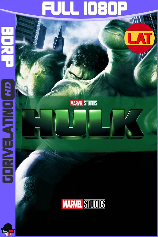 Hulk (2003) BDRip 1080p Latino-Ingles MKV