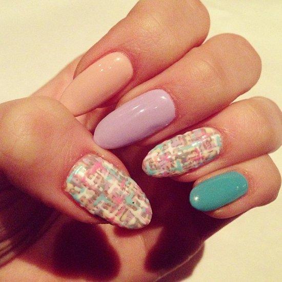 Q Riouser Q Riouser Nail Art: Todo Unhas: Diseños De Uñas Color Pastel