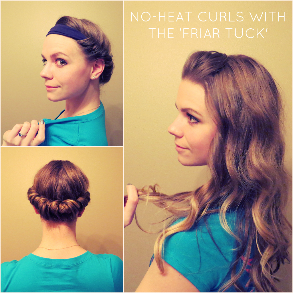 Aunie Sauce: The Friar Tuck: Curl Your Hair Without Heat