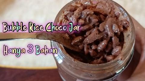 Cara Buat Choco Jar Rangup, Coklat Sentiasa Cair Dan Tak Payah Rendam