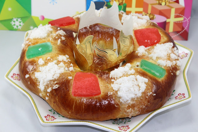 Roscón de Reyes de aceite de oliva con Thermomix