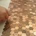 Покриття підлоги із монет - відео