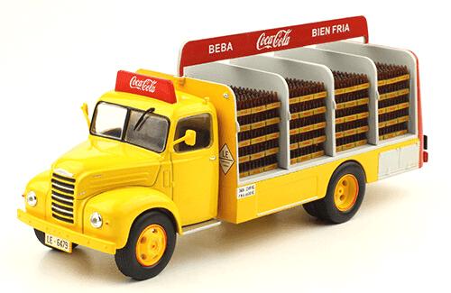 Ebro B-45 1962 Coca-Cola vehículos de reparto y servicio salvat