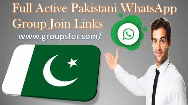 whatsapp group join link Pakistan