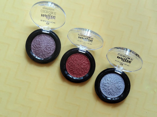 Essence Melted Chrome Eyeshadows