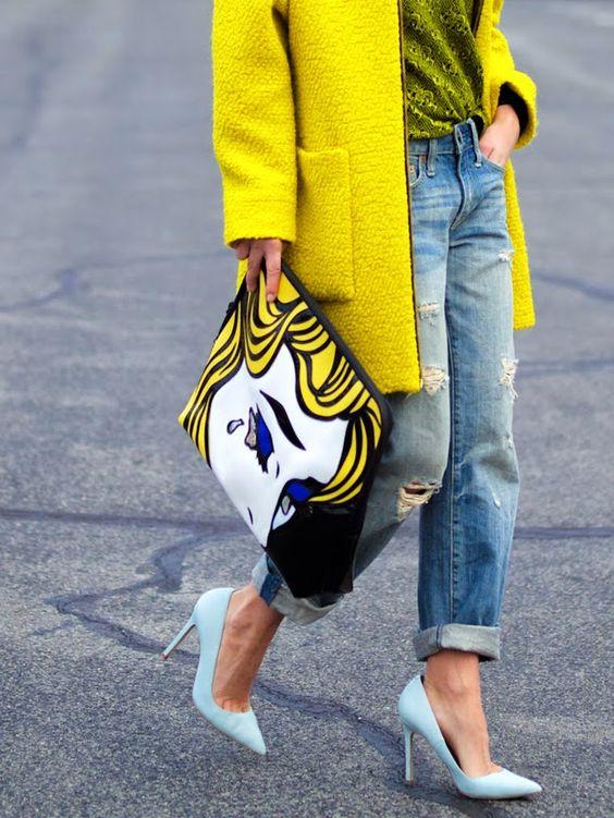 pop art outfit inspiration fashion