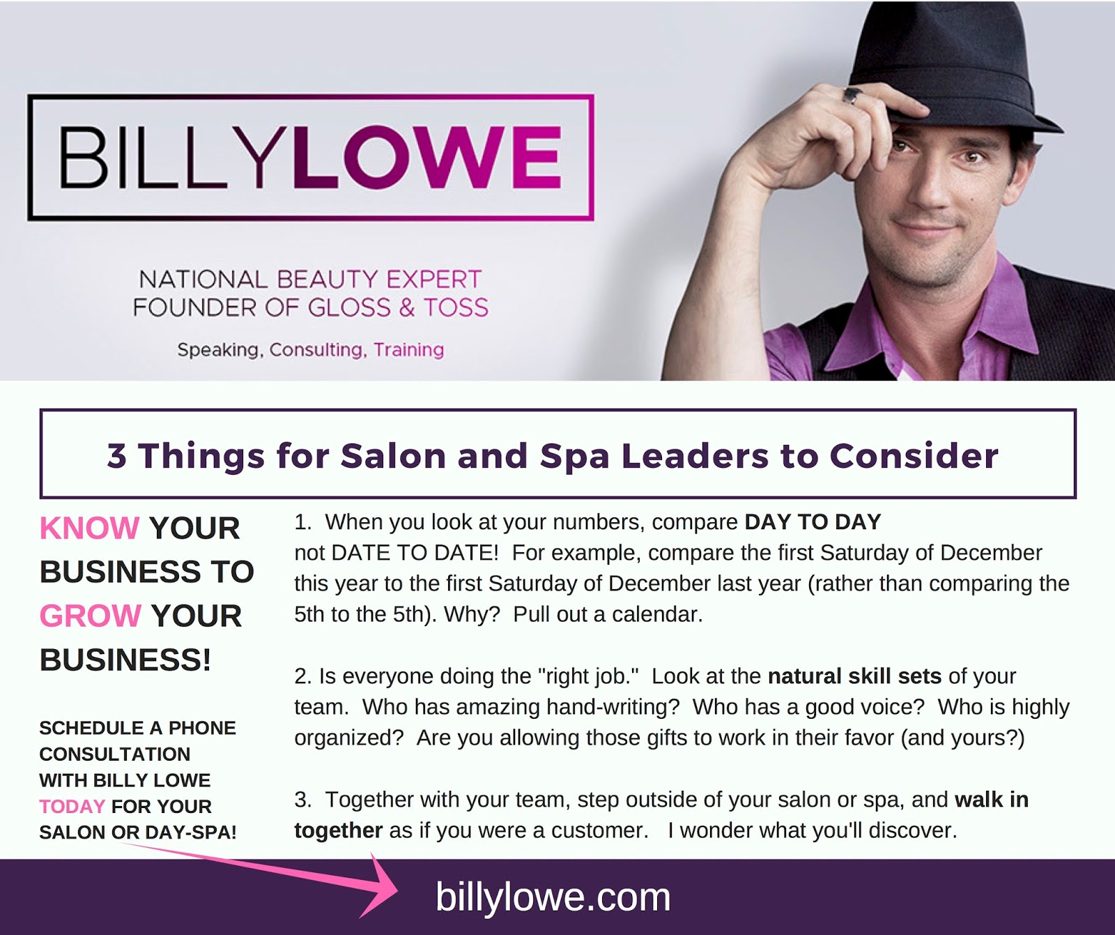 Beauty Business: Discovery Tips 39