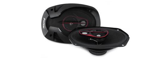 Pioneer TS-R6951S 3 Way Coaxial Speaker