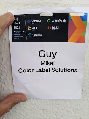 Name Badge W/O Lead Info