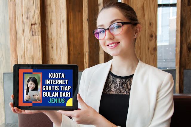 Cara Dapet Kuota Internet Gratis Tiap Bulan