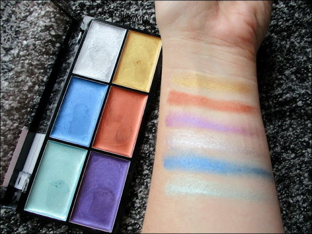 NEW Fantasy Makers Paint Palettes from Wet 'n' Wild Fall 2017! 'The Metallics'