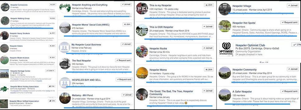 Paul Langan: 27 Hespeler Facebook Groups Reviewed!