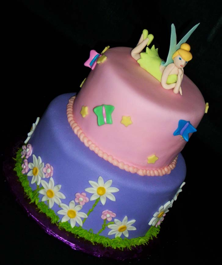 Tinkerbell Baby Shower Cakes Tinkerbell The Twisted Sifter