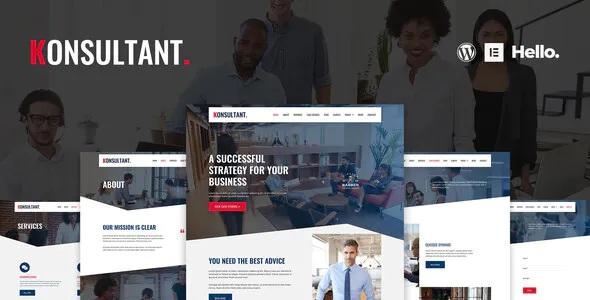 Best Consultancy Firm Elementor Template Kit