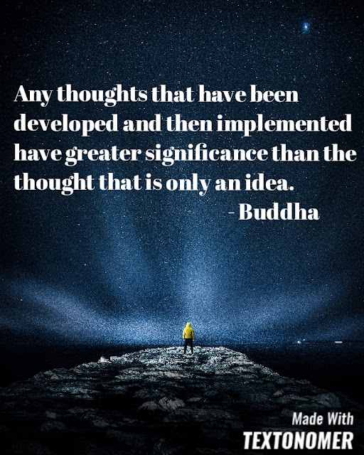 Quotes on thoughts and ideas