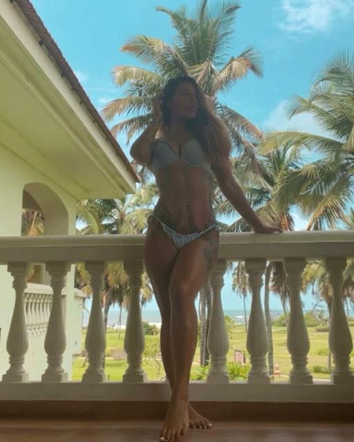 Tiger Shroff's Sister Krishna Shroff Sets Mercury Soaring in Mint Green Bikini