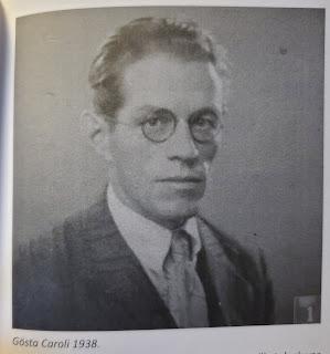 Gösta Caroli 1938  (Olsson & Jonason - Gösta Caroli: Dubbelagent Summer)