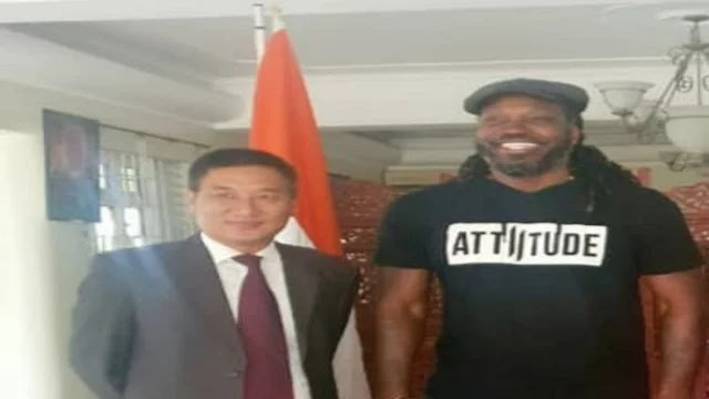 Breaking News | Latest Cricket News | Latest Sports News| West Indies Batsman Chris Gayle thanks Prime Minister Narendra Modi