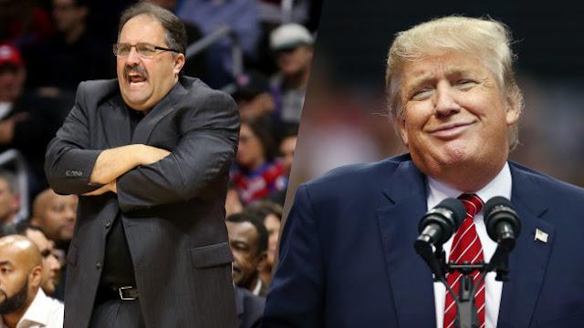 Stan Vang Gundy opposé à Donald Trump   PistonsFR, actualité des Detroit Pistons en France