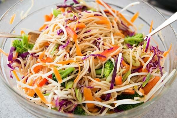 How to make easy noodle salad recipe at Home