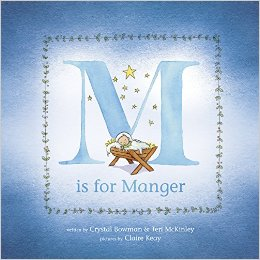 M is for Manger (Book Review)