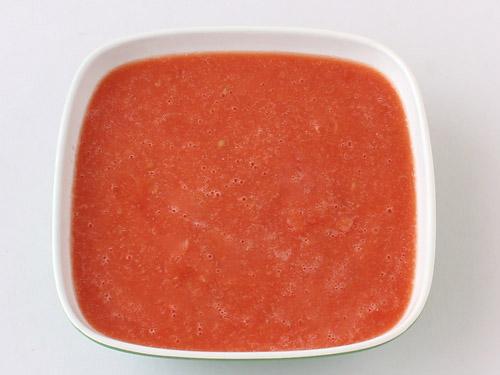 Resep MPASI Bubur Susu Tomat Merah
