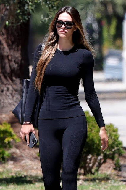 Amelia Hamlin – Seen after her Pilates class in West Hollywood
