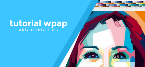 Tutorial Coloring WPAP by Obiy Shinichi Art