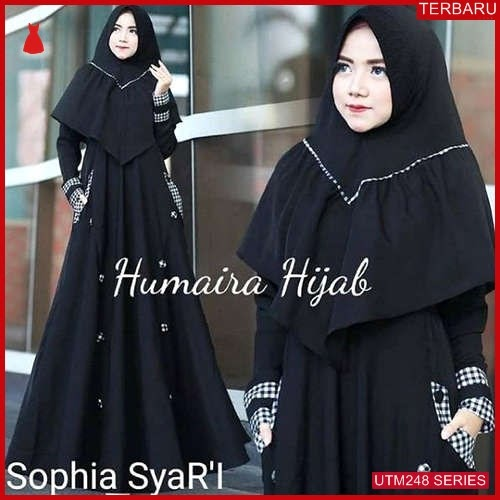 UTM248S67 Baju Shopiya Muslim Syari UTM248S67 0F8 | Terbaru BMGShop