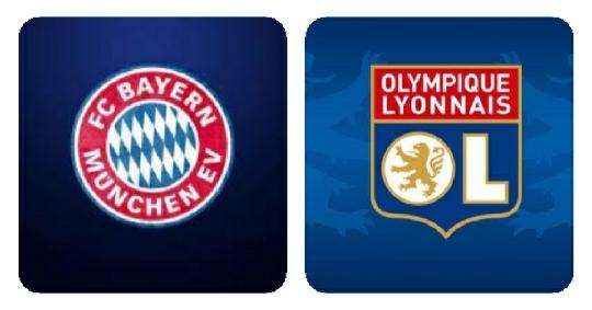 مباراة بايرن ميونخ وأوليمبيك ليون