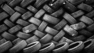 elastic tire