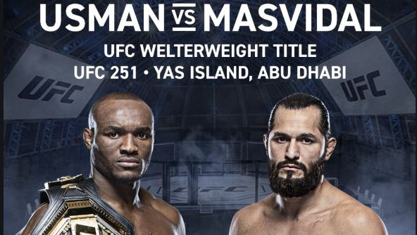 Watch UFC 251 Usman vs Masvidal 7/11/2020 Online 11th July 2020 Download mp4 on Watch UFC