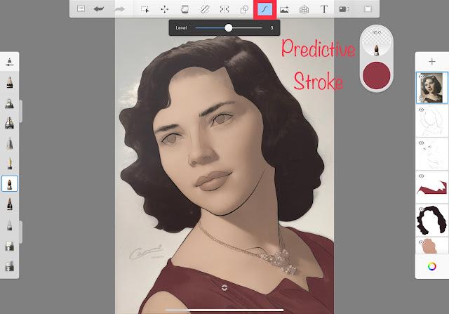 Predictive Stroke in Autodesk SketchBook App