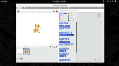 Scratch 2 in Fedora