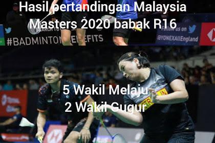 Hasil pertandingan Perodua Malaysia Master 2020, Hafiz/Gloria melaju Pia/Ricky tersingkir